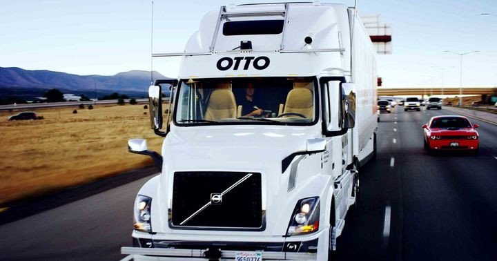 Levandowski got the attention of the trucking industry in 2016 when he founded self-driving truck company Otto after leaving Google.  - Photo: HDT file photo from Otto