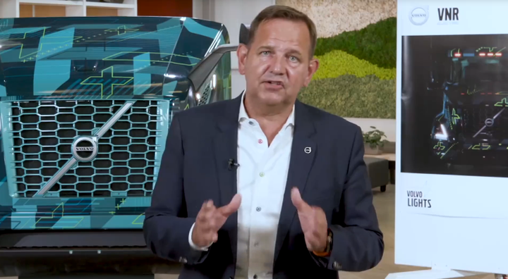 Volvo Trucks North America's Peter Voorhoeve emphasized the importance of teamwork in electric truck development and deployment.