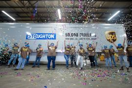Stoughton Celebrates Milestone with UPS