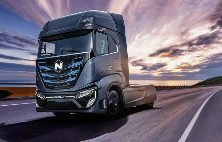 Nikola says the first truck to come off the assembly line at Coolidge, Arizina will be a battery-electric version of the Tre COE. A Fuel-cell version will follow about a year later. 