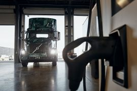 Volvo LIGHTS Broadens Electric Truck Charging Options