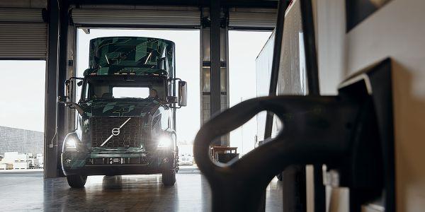 Volvo LIGHTS Broadens Electric Truck Charging Options