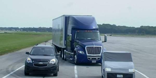 Multi-lane autonomous emergency braking, another new feature highlighted during the event,...