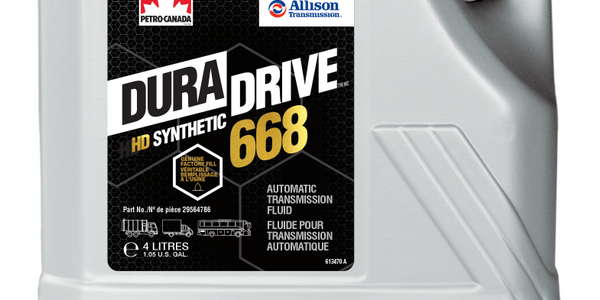 Petro-Canada officials said the DuraDrive HD Synthetic 668 for Allison transmissions helps...
