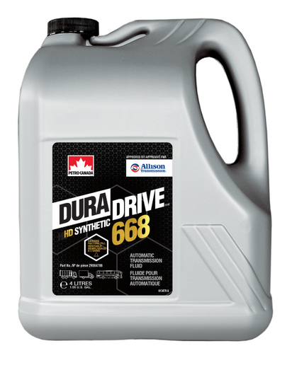 Petro-Canada officials said the DuraDrive HD Synthetic 668 for Allison transmissions helps customers maximize uptime and improve performance. - Photo: Petro-Canada