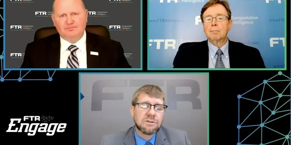 FTR's Eric Starks, Avery Vise, and Jonathan Starks talk trucking's recovery.