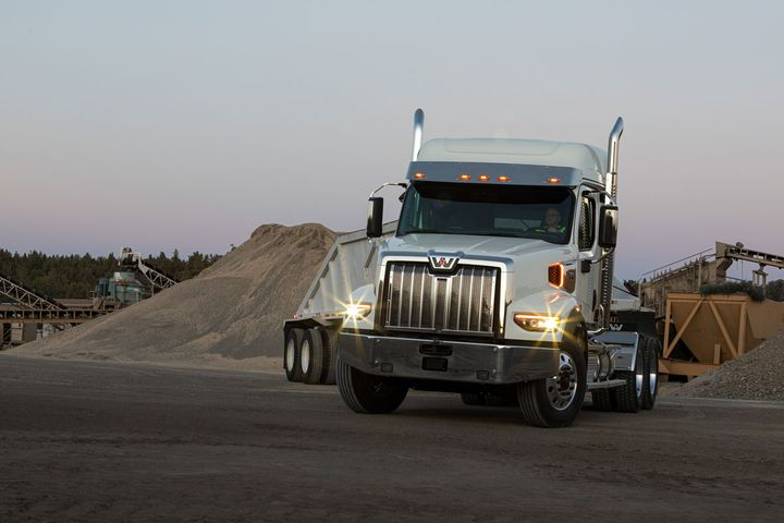 The all-new Western Star 49X is the OEM's next-generation vocational truck, with a host of features designed to make life easier for drivers both on- and off the highway. - Photo: Daimler Trucks North America