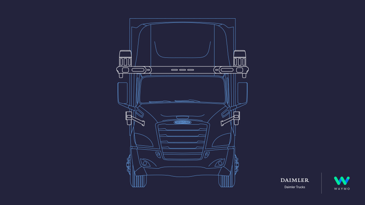 Daimler says automated trucks have huge potential, not only for trucking companies, but for society and the overall economy. - Photo: Waymo