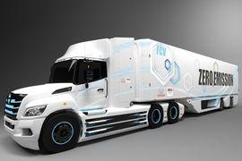 日野,丰田为北美开发的8级燃料电池电动卡车