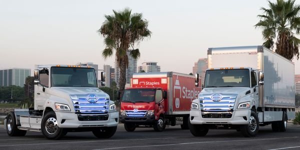Hino recently showed off a range of electric commercial vehicles for the U.S. one of which is...