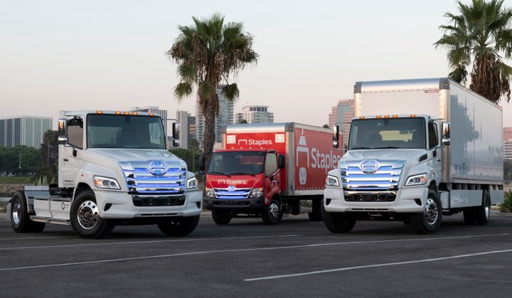 Hino's Project Z drives toward zero-emission medium- and heavy-duty trucks. - Photo: HIno