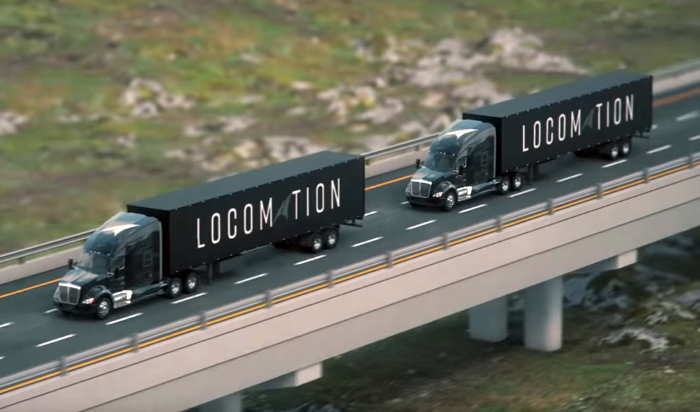 Locomation Working with Nvidia on Human-Guided Autonomous Truck Convoys