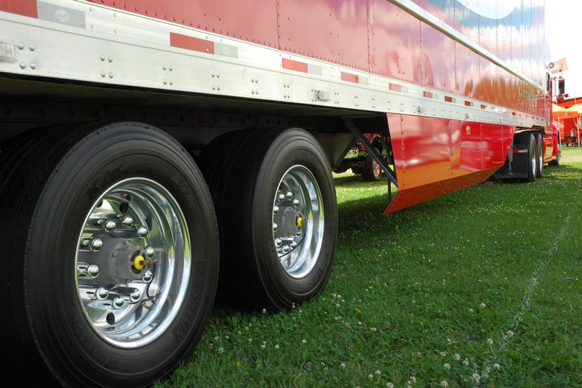 According to NACFE, low rolling resistance tires are now on more than 80% of new truck and trailers.
