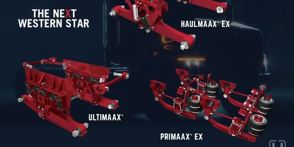 A trio of tough Hendrickson suspensions will be available on the new Western Star 49X.