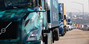 Grants to Help Deploy 70 All-Electric Volvo Trucks