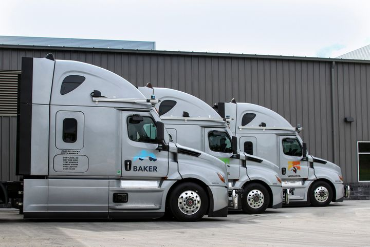 """""""To meet the redundancy and performance requirements of a self-driving truck, the traditional truck chassis must be reinvented,"""" explained Michael Fleming, Torc's CEO. - Photo: Daimler Trucks North America"""