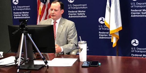 FMCSA's Wiley Deck talks regulations during the American Trucking Associations' virtual conference.