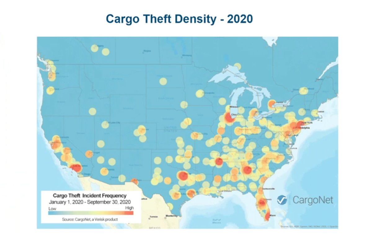 COVID-19 Affecting Cargo Theft Trends