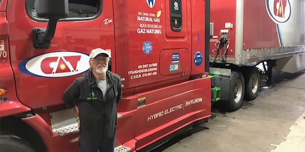 C.A.T.'s Natural Gas Trucks Get Boost with Hyliion E-axles