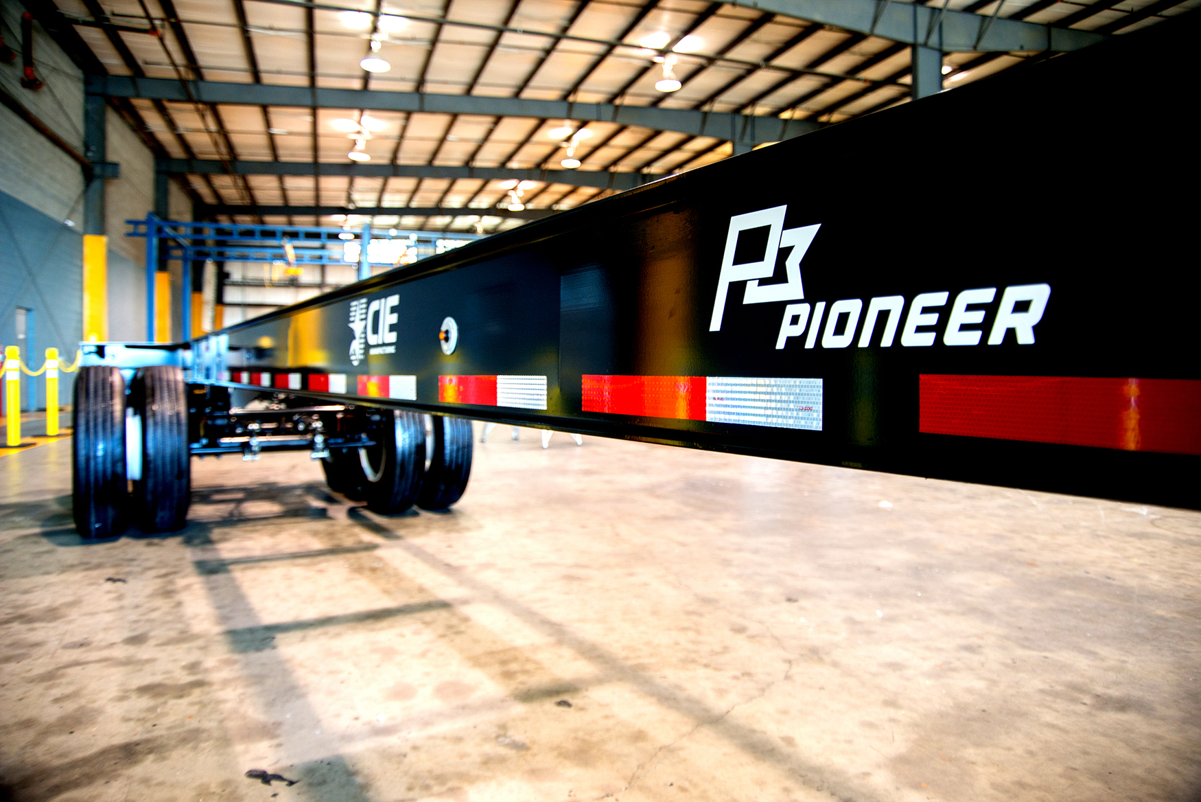 CIE Ramps up Intermodal Container Chassis Production