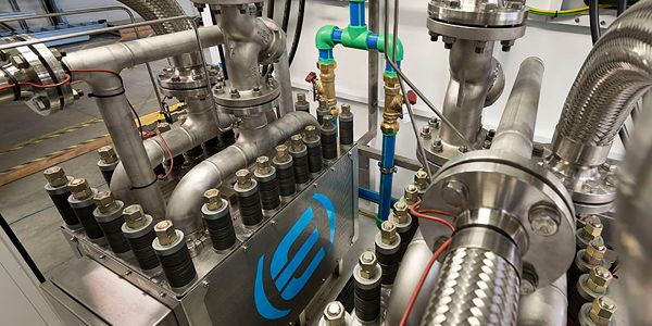 Cummins' electrolyzers can produce hydrogen from water using renewable electricity. The plants...