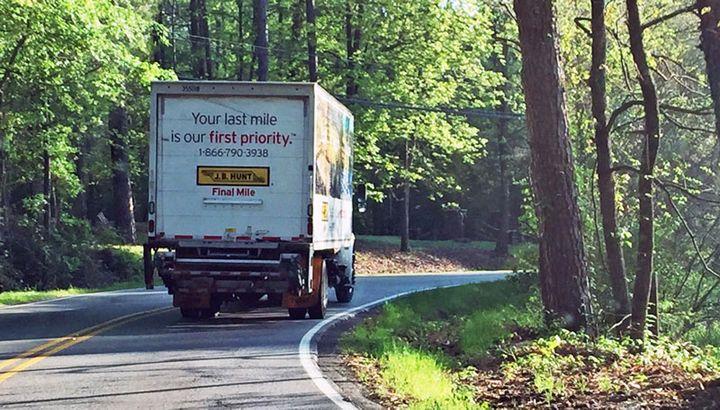 J.B. Hunt continues to build its last-mile delivery business. - Photo: Deborah Lockridge
