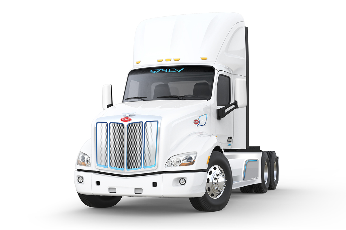 All-Electric Peterbilt 579EV Available for Customer Orders