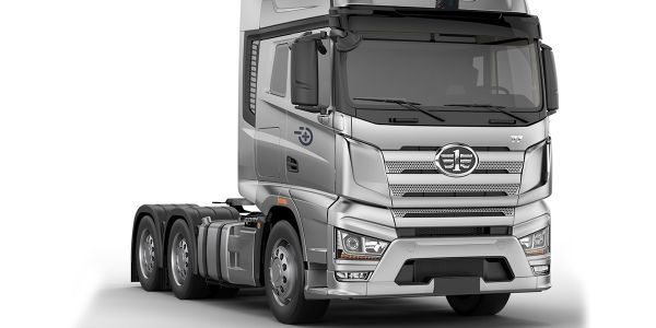 FAW's J7+, co-developed by Chinese truck maker, FAW and Plus AI is the first self-driving truck...
