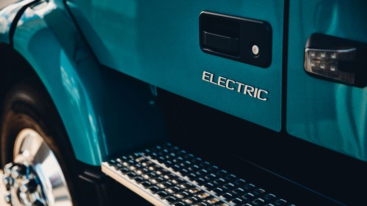 Volvo will release more details on the VNR Electric and open up the order board on Dec. 3. - Photo: Volvo Trucks North America