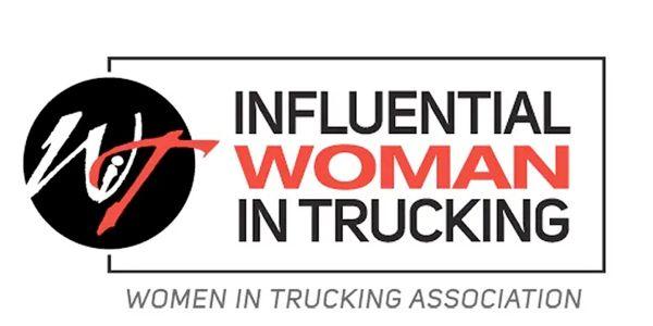The Women In Trucking Association's 2021 Influential Woman in Trucking award honors women in the...