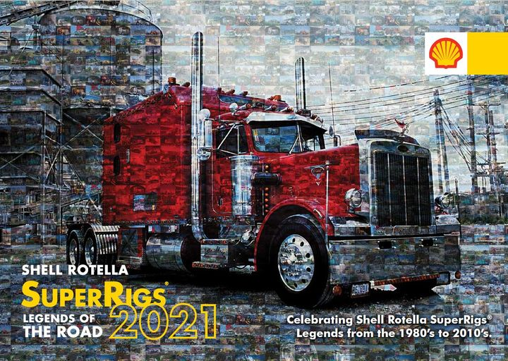 The 2021 Shell Rotella SuperRigs Calendar is now available for order online. - Photo: Shell Rotella