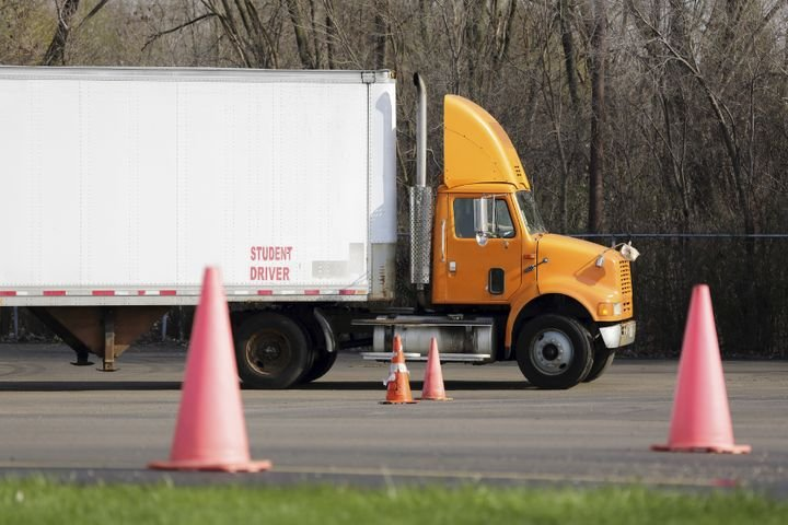 Should the same person who trained a truck driver be allowed to administer the driver's CDL test? - File photo