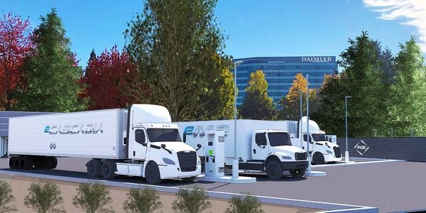 Electric Island is a new, technology showcase in Portland, OR, highlighting fast charging of...