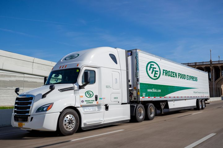 FFE is one of number of companies raising driver pay as turnover rises. FFE linehaul solo driver pay is set to increase 25% for new drivers; some experienced drivers will earn up to 60 cents per mile base pay. - Photo: FFE