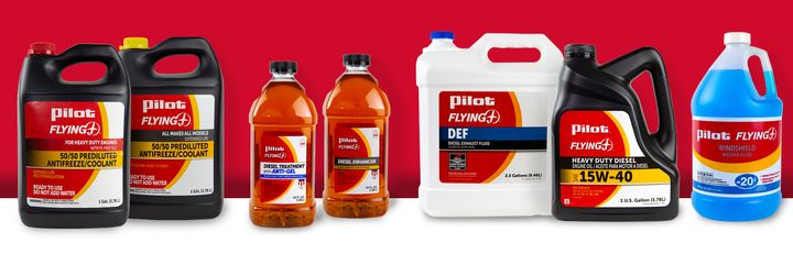 Pilot Flying J is offering anti-geling diesel fuel additives and winterizing its diesel fuel in cold weather states for winter. - Photo: Pilot Flying J