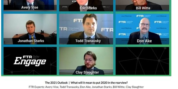 FTR experts outlined their expectations for freight transportation in 2021.