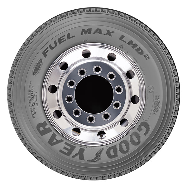 Goodyear to Introduce Fuel Max LHD 2 Long-Haul Tire