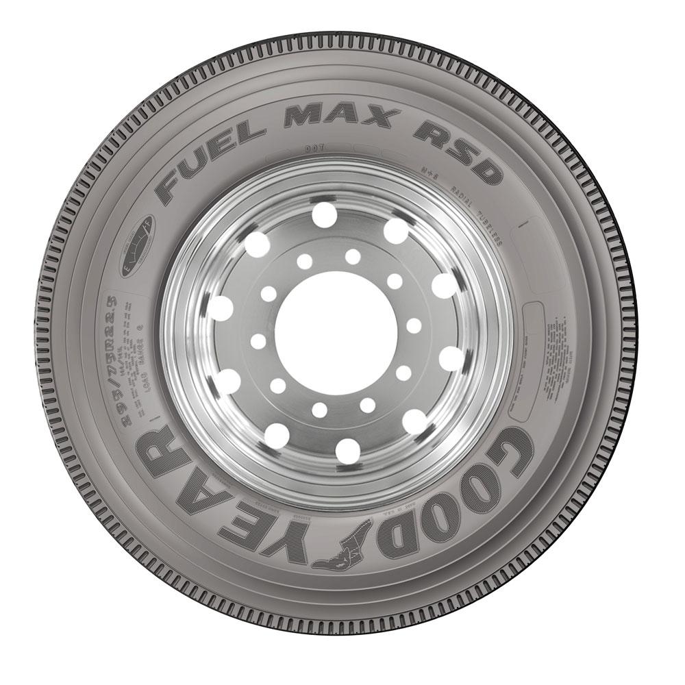 Goodyear Debuts Super-Regional Drive Tire