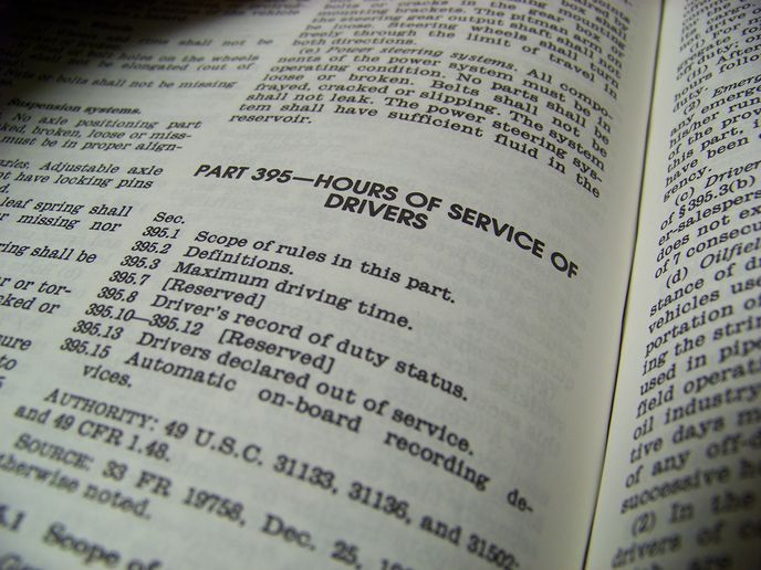 There have been lots of questions about the recent changes in hours-of-service rules. - Photo: HDT File