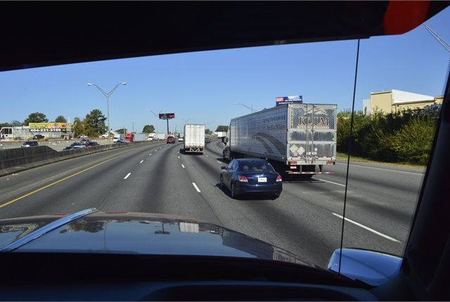proposed I-75 Commercial Vehicle Lanes project will improve mobility and safety for freight operators and passenger vehicles by constructing two, barrier-separated commercial vehicle-only lanes northbound along I-75 from approximately the I-475/I-75 Interchange near Macon to the McDonough area.. - Photo: Christina Hamner