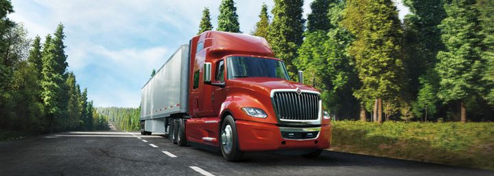 Bendix's enhanced Wingman Fusion system now has the capacity to apply increased braking power on the tractor and trailer.  - Photo: Navistar