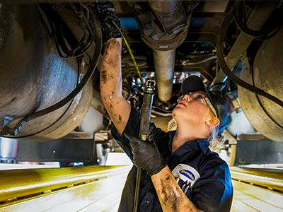As its maintenance capabilities grew, Love's Travel Stops saw the need to change the name of its truck maintenance division to Love's Truck Care. - Photo: Love's Travel Stops