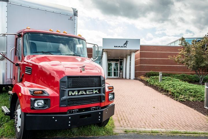 FTR's Trucking Conditions Index for October jumped to the highest level in the nearly 30 years captured in the data to a 16.17 reading - Photo: Mack Trucks