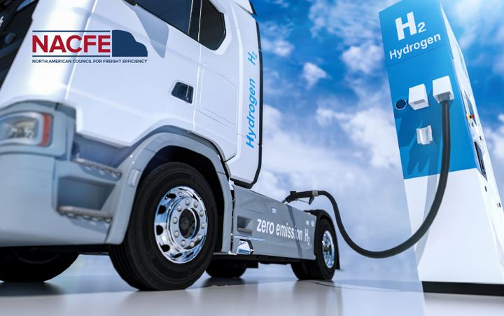 NACFE's guidance report, Making Sense of Heavy-Duty Hydrogen Fuel Tractors, highlights the challenges and benefits of making fuel-cell powered trucks competitive with battery-electric trucks as clean-energy alternatives to diesel. - NACFE