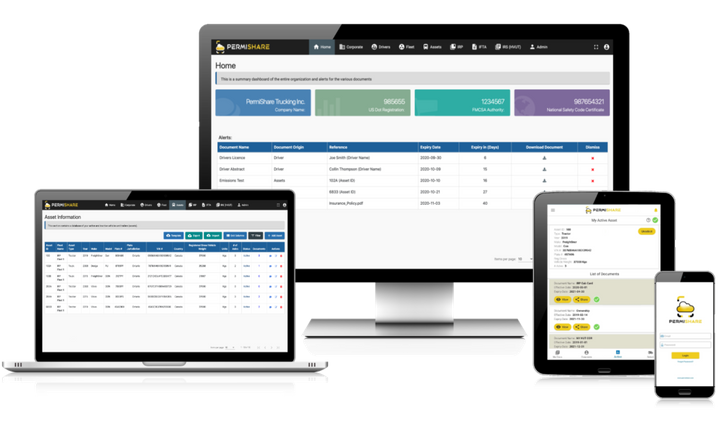TransReport Services'PermiShareapp is a mobile electronic permit book for safety and compliance managers. - Photo: PermiShare