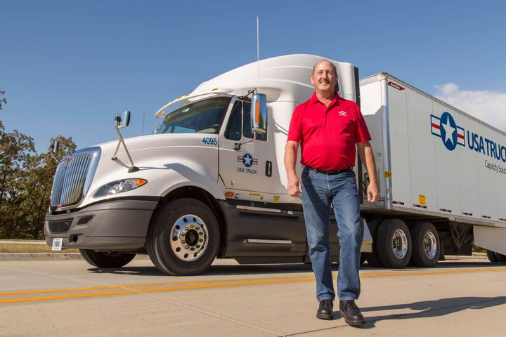 Because truck drivers are essential workers and many state driver license agencies have backlogs, FMCSA has again extended its waiver for license renewals. - Photo: USA Truck