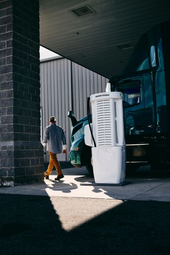 Volvo Trucks North America is offering a special financing option through Volvo Financial Services to help with the installation of the charging infrastructure.  - Photo: Volvo Trucks North America
