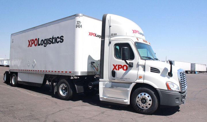 XPO Logistics plans to split itself into two companies. - Photo: XPO