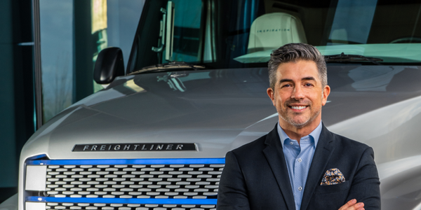 "Andrew ""Andy"" Johnson has 26 years of experience with Daimler Trucks North America."