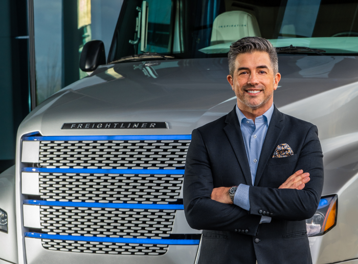 """Andrew """"Andy"""" Johnson has 26 years of experience with Daimler Trucks North America. - Photo: DTNA"""